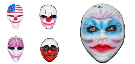 Payday2 Cosplay Mask