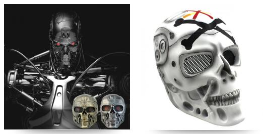The Terminator Cosplay Mask