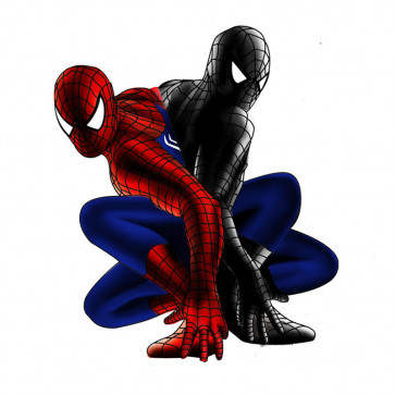 Black Amazing Spider-Man Kid Cosplay Zentai Suit