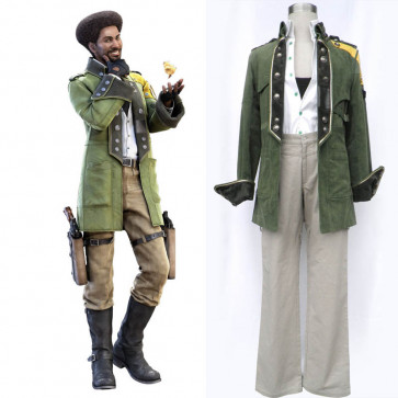 Final Fantasy XIII FF13 Sazh Katzroy Cosplay Costume