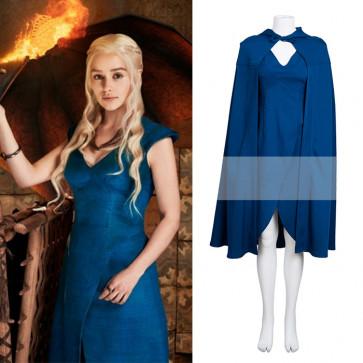 Game of Thrones Cosplay Costume Daenerys Targaryen Costume