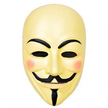 GRP Mask Movie V for Vendetta Mask Guy Fawkes Cosplay Mask Glass Fiber Reinforced Plastics Mask