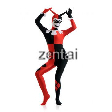 Halloween Clown Full Body Spandex Lycra Cosplay Zentai Suit