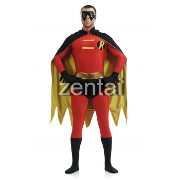 Halloween Full Body Robin Hood Lycra Cosplay Zentai Suit