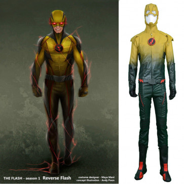 Reverse Flash Cosplay