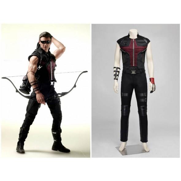 Avengers Age of Ultron Hawkeye Cosplay Costume