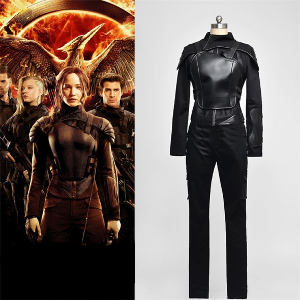 Katniss Everdeen Cosplay Costume Outfit