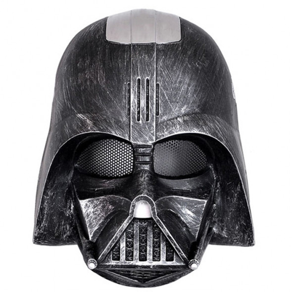 GRP Mask Movie Star Wars Mask Black Warrior Darth Vader Anakin Skywalker Cosplay Mask Glass Fiber Reinforced Plastics Mask