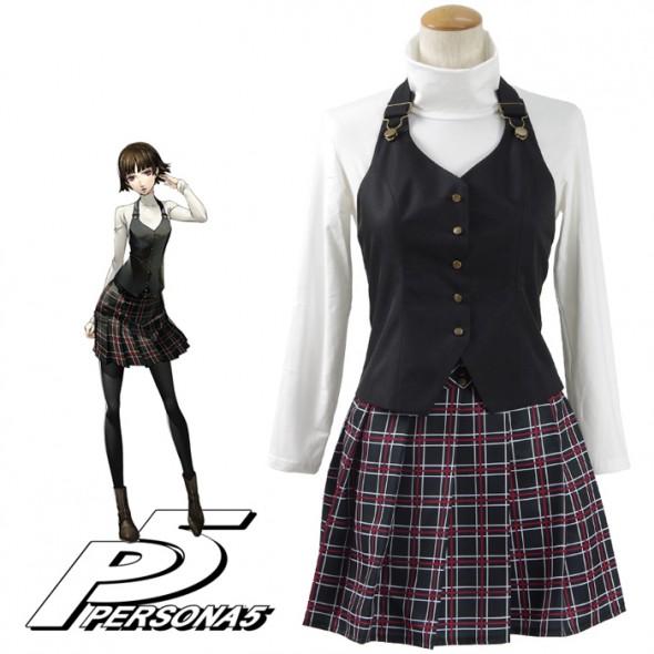 Persona 5 Cosplay Costume にいじま まこと Niijima Makoto Costume