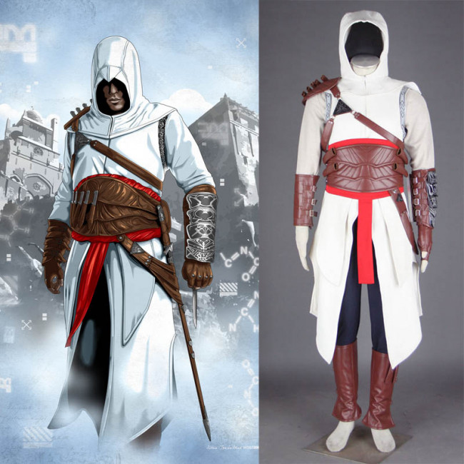 Assassin S Creed I Altair Ibn La Ahad Cosplay Costume