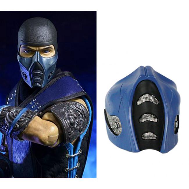 Grp Mask Game Mortal Kombat Cosplay Mask Sub Zero Mask Glass