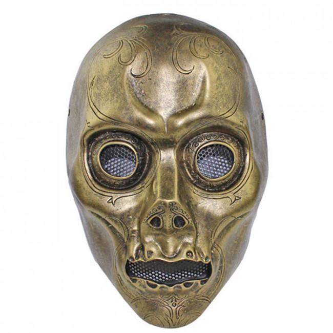 Grp Mask Harry Potter Cosplay Mask Death Eater Mask Glass Fiber Reinforced Plastics Mask
