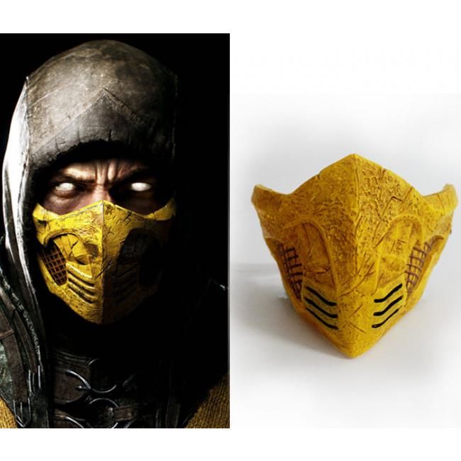 GRP Mask   Game Mortal Kombat Cosplay Mask   Scorpion Mask ...