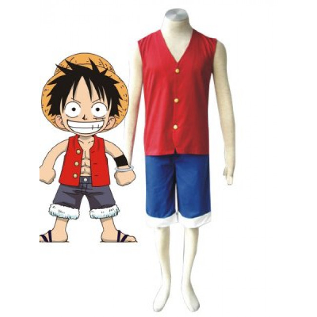 One Piece Cosplay Monkey D Luffy Cosplay Costume