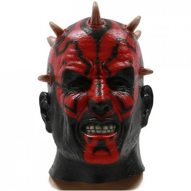 halloween star wars darth maul cosplay mask  halloween horror mask for darth maul