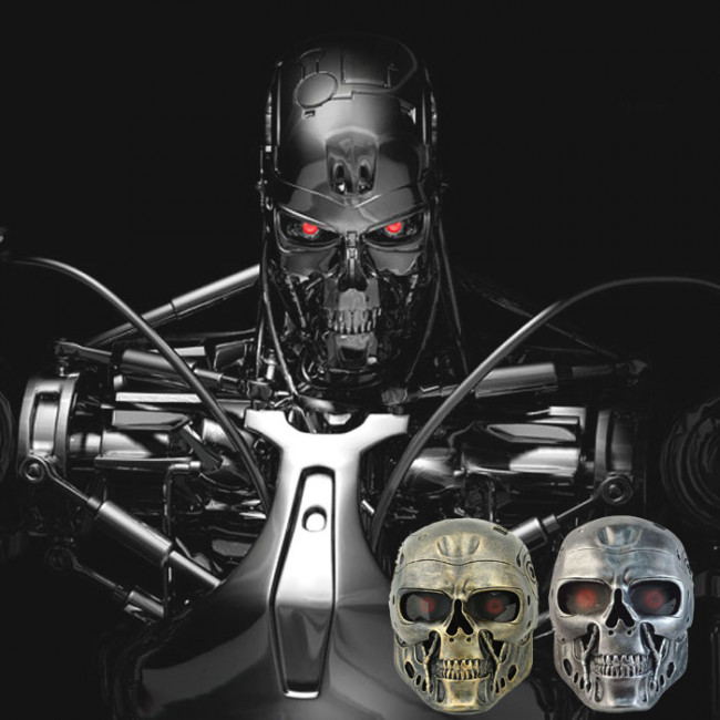 The Terminator Movie T 800 Robot Cosplay Mask T 800 Robot Cosplay
