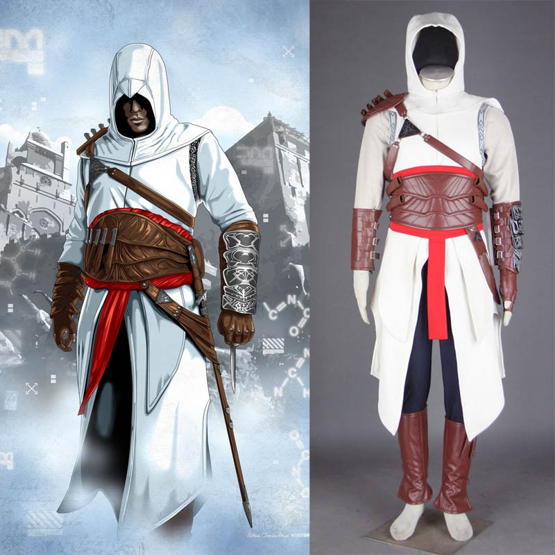 Home assassin s creed i altair ibn la ahad cosplay costume