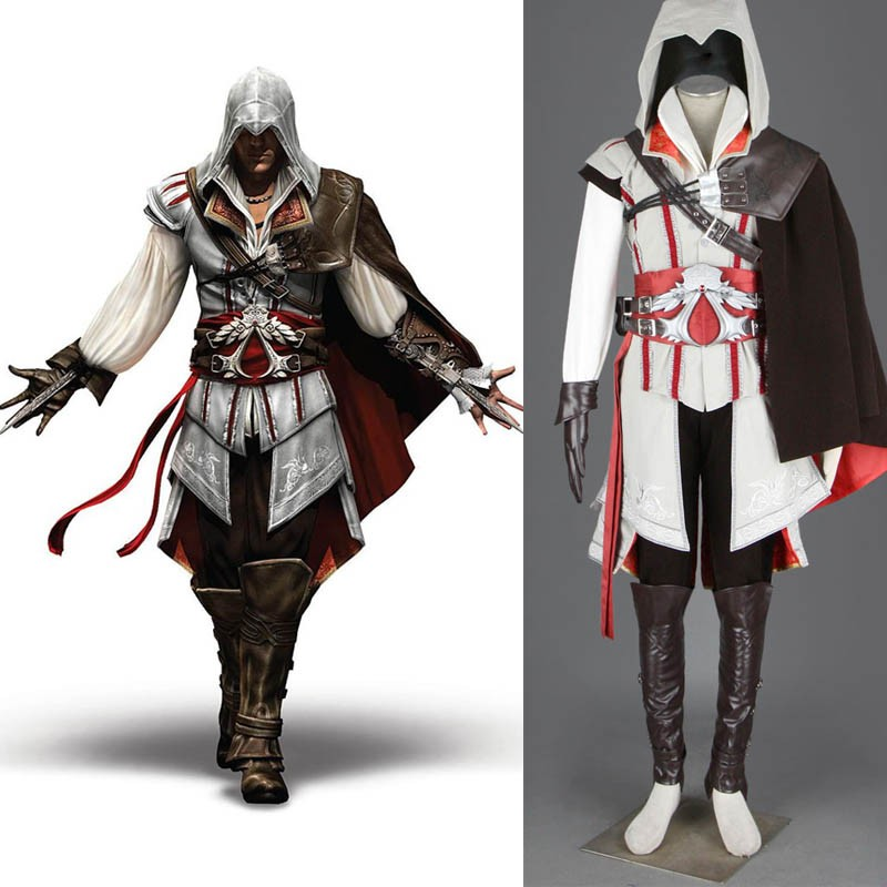 Assassin's Creed II 2 Ezio Auditore Da Firenze Cosplay