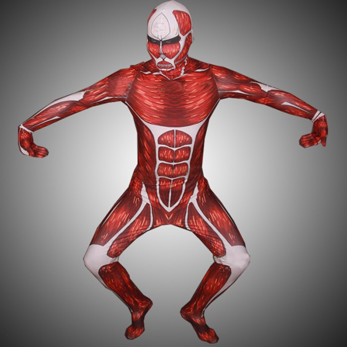 Attack on Titan Colossal 50M Titan Cosplay Zentai Suit ...