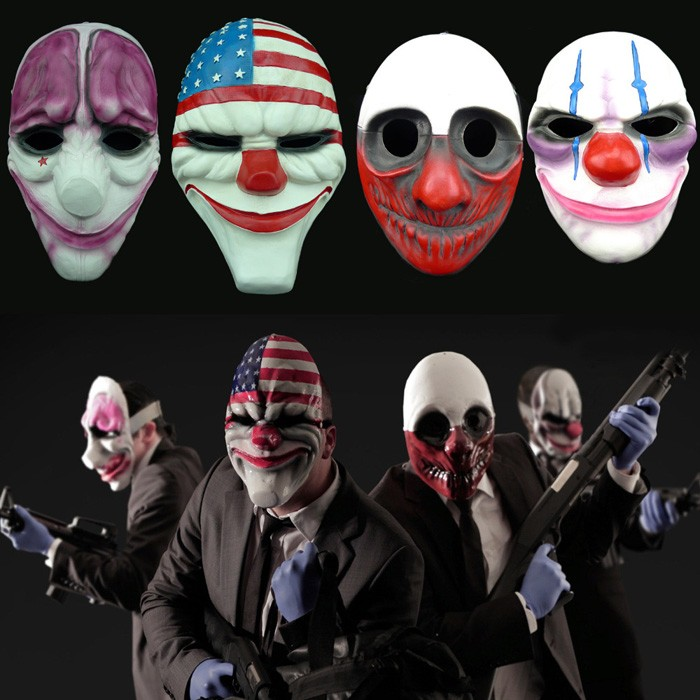 Payday 2 dallas cosplay - PAYDAY 2: Completely OVERKILL Pack Mask