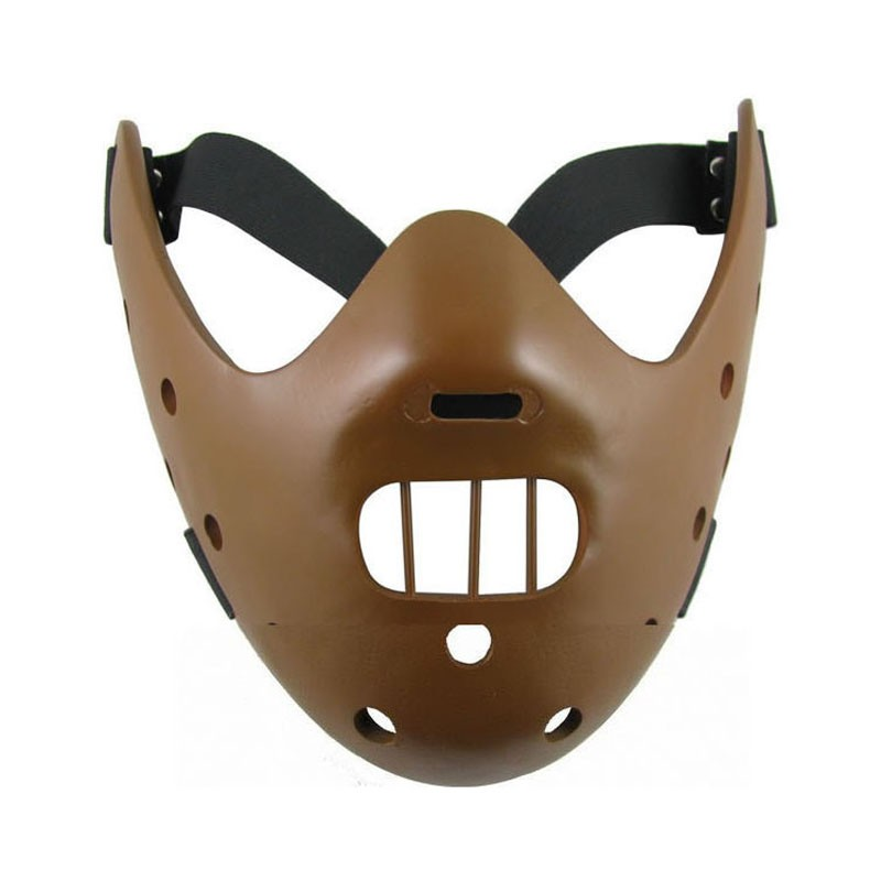 Hannibal Cosplay Mask/ Movie The Silence of the Lambs Mask