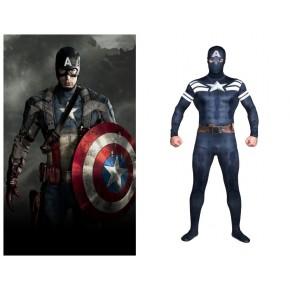 Marvel's The Avengers Captain America Full Body Zentai Suit