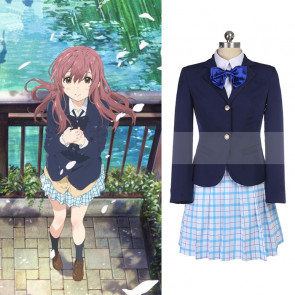 Check Anime A Silent Voice/The Shape Of Voice/聲の形 Nishimiya Syouko/にしみや しょうこ coser cosplay suit to buy on   www.4cosplay.net