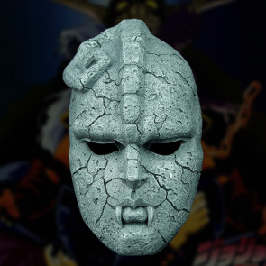 Anime JoJo Bizarre Adventure Full Face Stone Ghost Mask Resin Mask