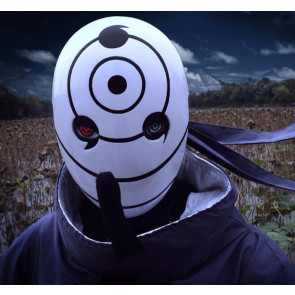 Naruto Mask Uchiha Madara White Mask