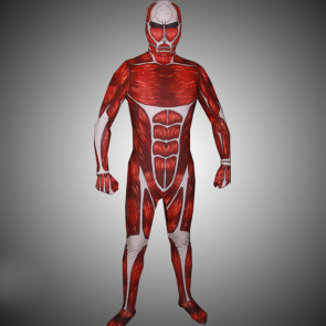 Attack on Titan 50M Colossal Titan Full Body Cosplay Zentai