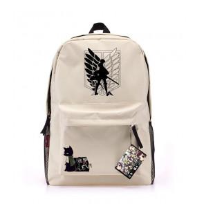 Attack on Titan Backpack Shingeki no Kyojin Canvas Bag