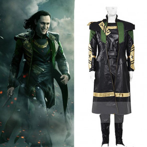 Avengers Age of Ultron Cosplay Costume Loki Costume