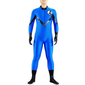 Blue No.4 Fighter Lycra Catsuit