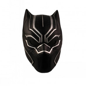 Captain America 3 Black Panther Cosplay Mask