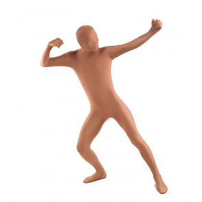 Flesh Color Unisex Full Body Zentai Suit
