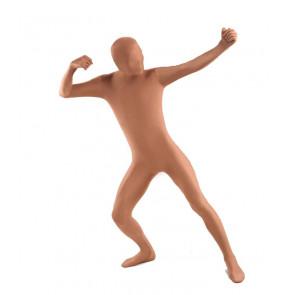 Flesh Color Unisex Full Body Zentai Suit