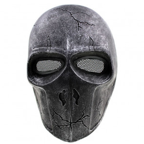 GRP Mask Anime Deathstroke Horror Mask Deathstroke Cosplay Mask Glass Fiber Reinforced Plastics Mask