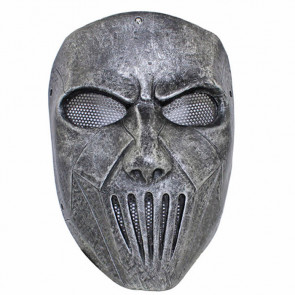 GRP Mask Heavy Metal Band Slipknot Mask Guitarist Mick Thomson Cosplay Mask Glass Fiber Reinforced Plastics Mask