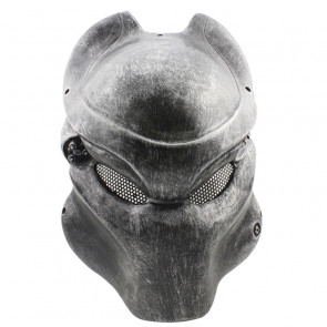 GRP Mask Movie Alien VS Predator Horror Mask Predator Cosplay Mask Glass Fiber Reinforced Plastics Mask