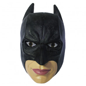 GRP Mask Movie Batman Dark Knight Cosplay Mask Batman Mask Glass Fiber Reinforced Plastics Mask