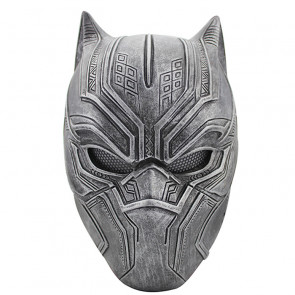 GRP Mask Movie Captain America 3 Mask The Black Panther Cosplay Mask Glass Fiber Reinforced Plastics Mask