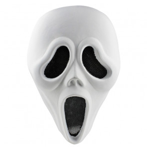 GRP Mask Movie Spectre Cosplay Mask Spectre Horror Mask Glass Fiber Reinforced Plastics Mask