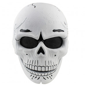 GRP Mask Movie Spectre Cosplay Mask Spectre Skull Head Horror Mask Glass Fiber Reinforced Plastics Mask