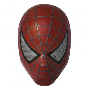 GRP Mask Movie Spiderman Cosplay Mask Glass Fiber Reinforced Plastics Mask