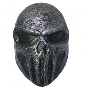 GRP Mask Movie The Punisher Horror Mask Frank Castle Cosplay Mask Glass Fiber Reinforced Plastics Mask