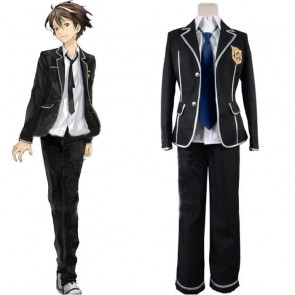 Guilty Crown Ouma Shu Male School Uniform Cosplay Costume
