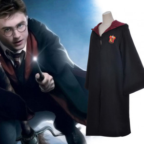 Harry Potter Cosplay Costume Premium Gryffindor Robe Costume