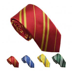 Harry Potter Tie Costume Necktie Gryffindo Red Tie Ravenclaw Blue Tie Hufflepuff Yellow Tie Slytherin Green Tie