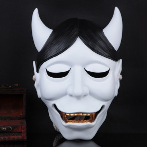 Shirakiin Riricho Ghost Fox Mask