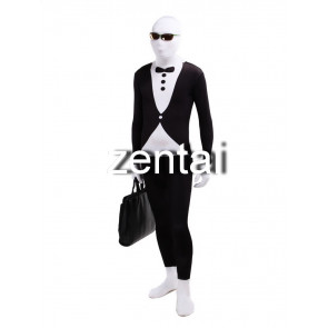 Mr.Suit Full Body Spandex Lycra Cosplay Zentai Suit